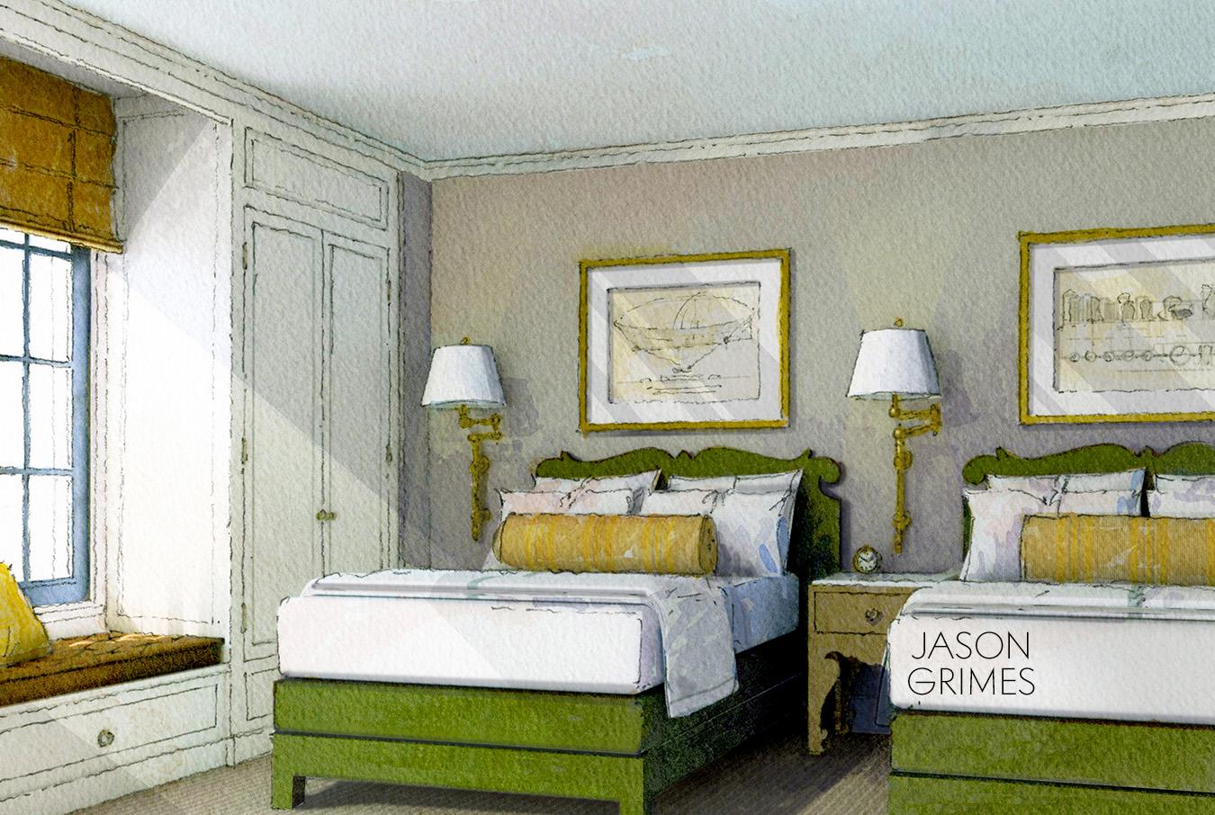 jg Double Bed WC green.jpg