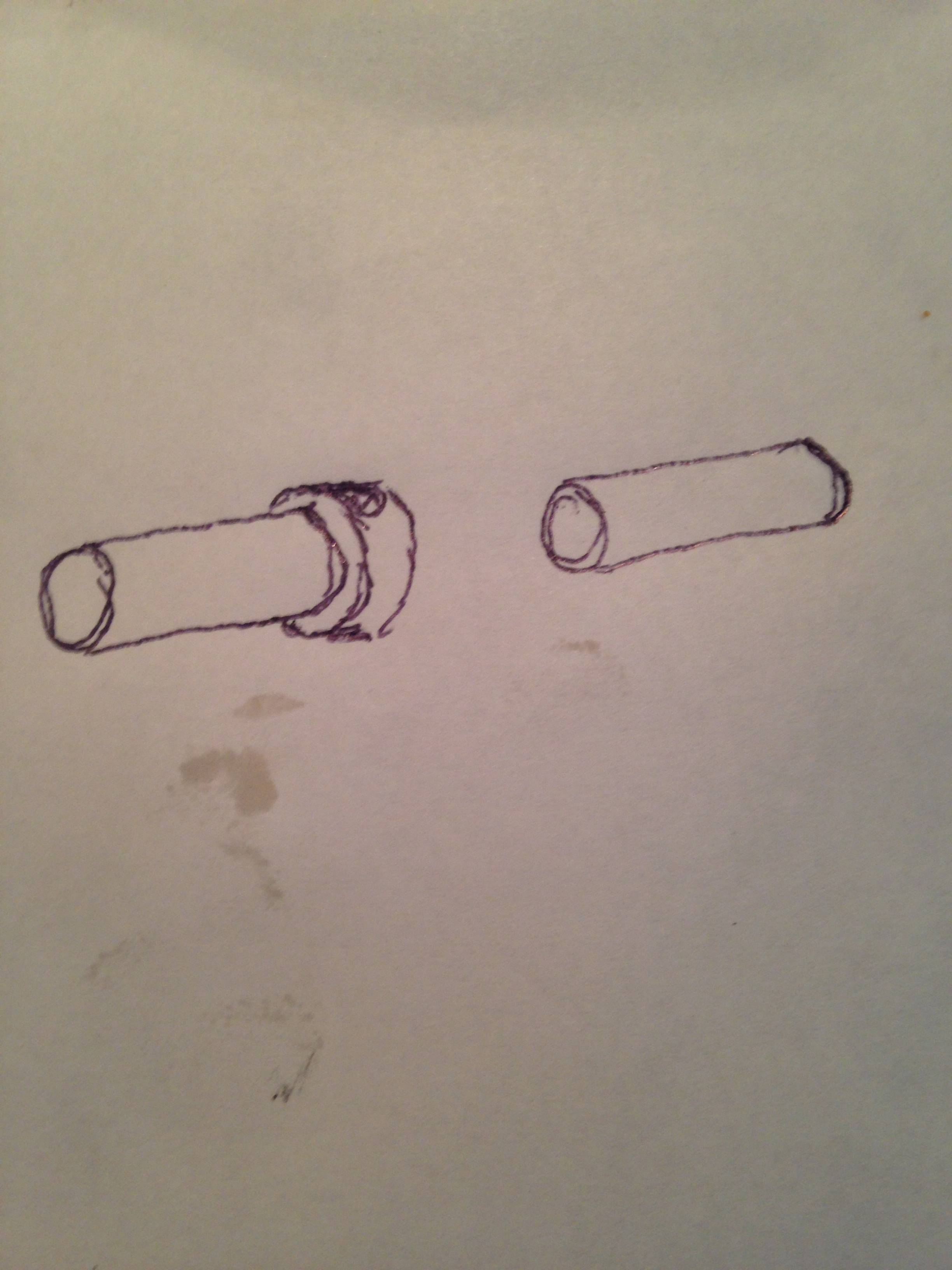 Two basic bore designs we decided to make.