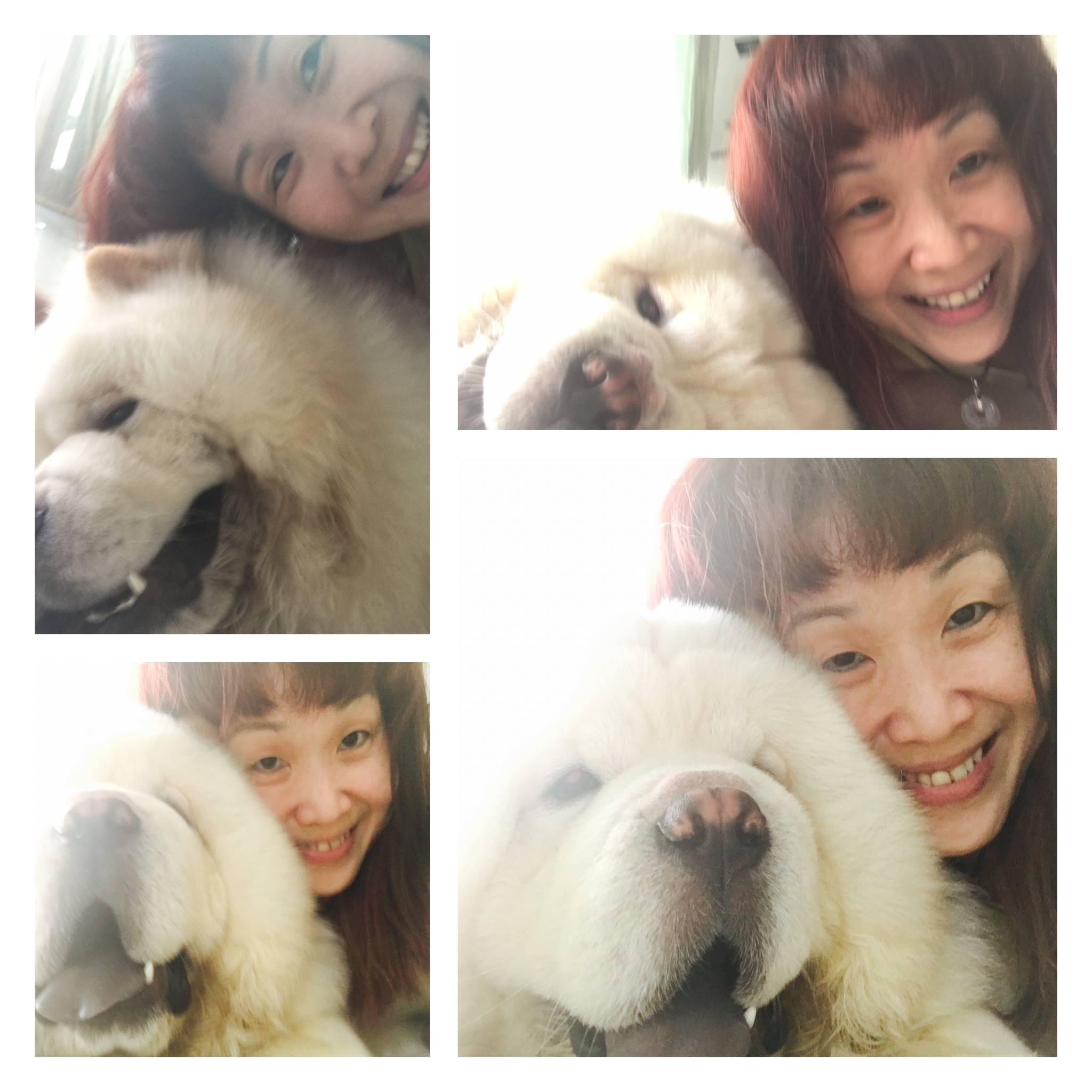 me & chowbie -