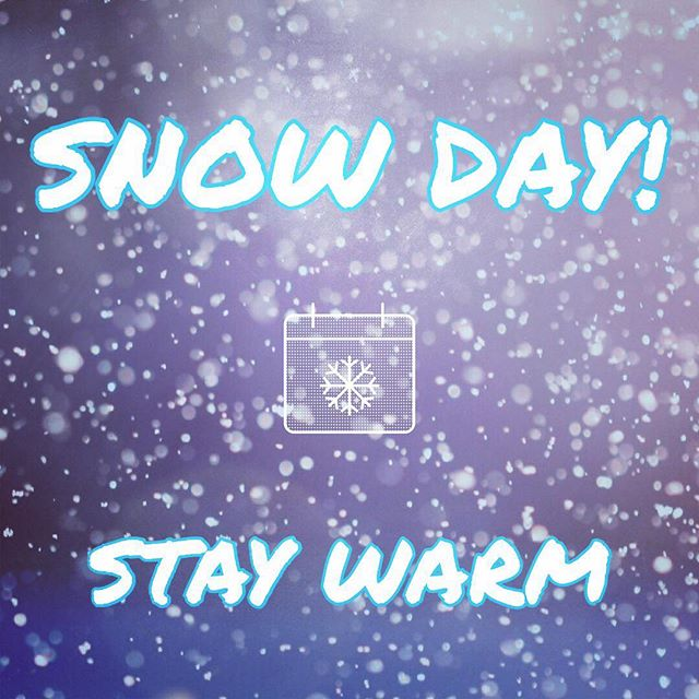 All classes will be cancelled tonight 2/6 due to the snow and hazardous road conditions! ❄️ Please drive save out there and stay warm! ❤️