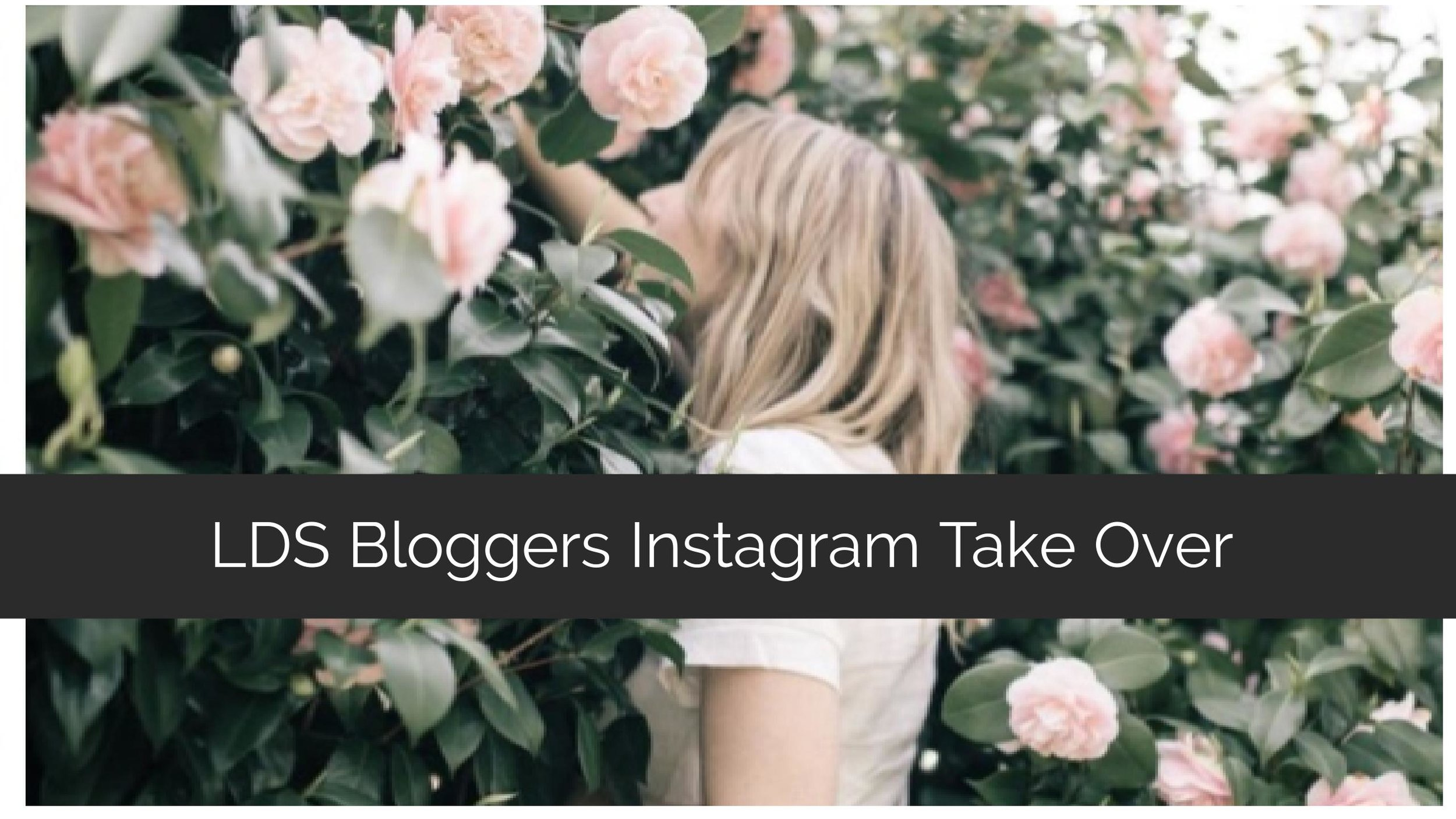 LDS Bloggers Instagram Take Over