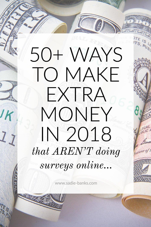 make extra money | make extra money at home | make extra money fast | make extra money in 2018 | frugal living ideas | frugal living tips | sadie banks photography
