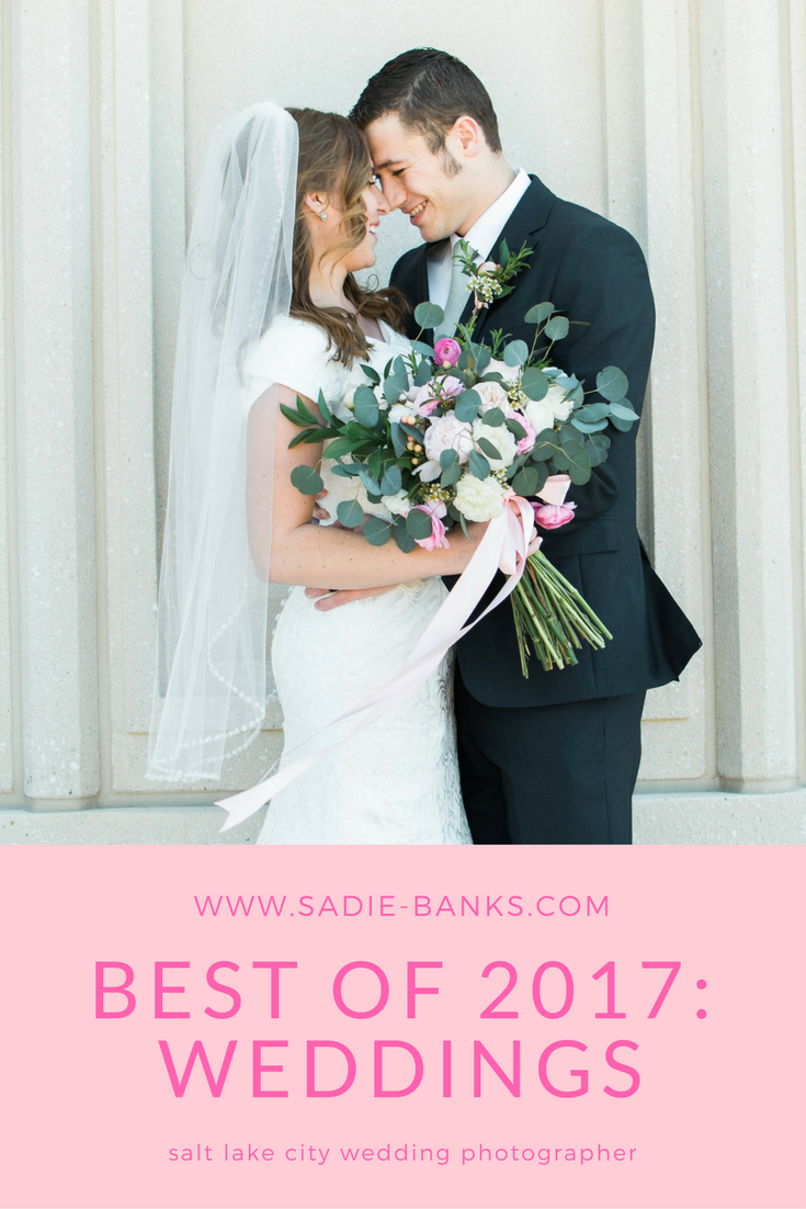 sadie banks photography | salt lake city wedding photography | salt lake city wedding photographer | best of 2017