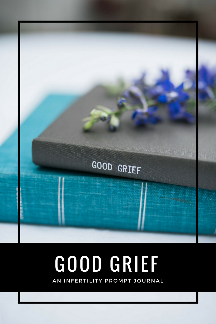 Good Grief is an Infertility Prompt Journal to help those struggling with infertility. There are so many feelings & emotions that come with infertility & there is so much healing in writing. This journal is designed to help you cope, find hope & live through your infertility journey.