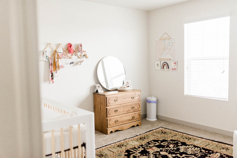 GENDER NEUTRAL NURSERY | baby girl nursery