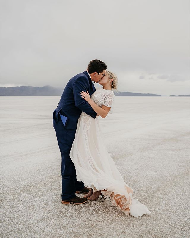 I find a new reason everyday to move down to Utah. The salt flats are amazing, and this weekend of fun and photos has been too. Lots of fun yet to come this week 🤘🏼 • • • • • • • • • #utah #utahwedding #utahweddingphotographer #bridals #bride #adventure #elopement #elopementphotographer #adventurephotography #travel #travelphotography #travelphotographer #visitutah #slc #utahphotographer #roadtrip #photographer #greenweddingshoes #junebugweddings #bravogreatphoto #dirtybootsmessyhair #beautifuldestinations #ltkunder100 #weddingwire #brides #weddingphotography #weddingphotographer