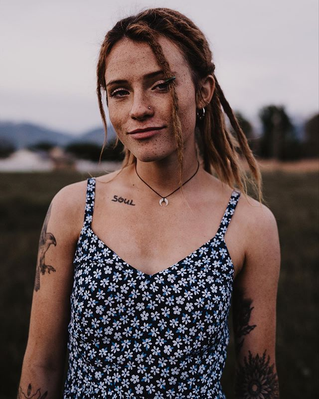 golden adventures with beautiful things • • • • • • • • • •  #adventure #dreads #dreams #dress #soul #ink #inkedgirls #portrait_mf #utah #utahphotographer #model #35mm #freepeople #beautiful #portraitphotography #bravoportraits #retrato #slc #visitutah #ofhumans #girls #howihue #tattoo #new #moody #colorcrush #thisverymoment #fromwhereyoustand #usa