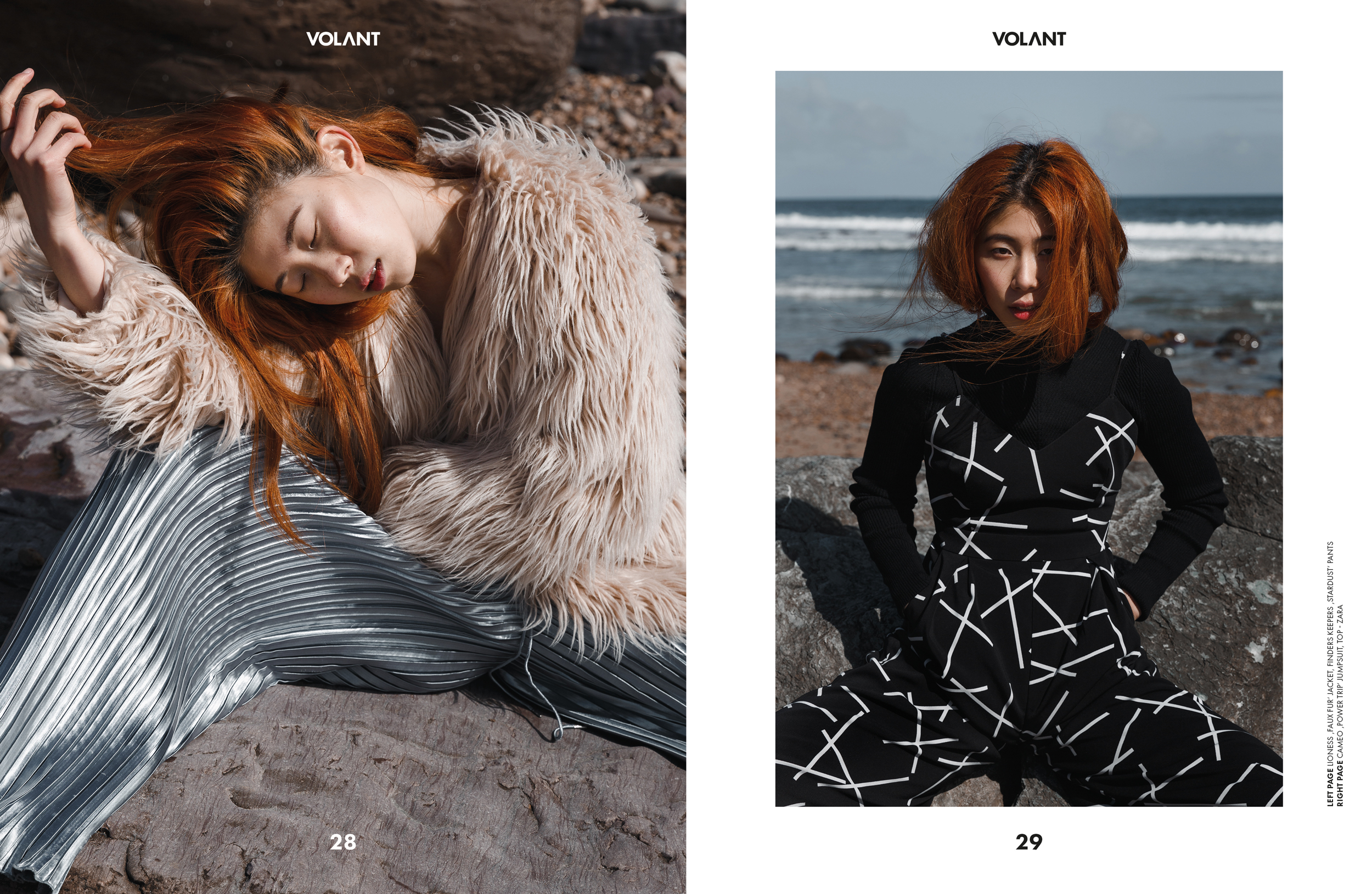 Kim Fisher Fashion Photographer Fashion Editorial for Volant Magazine October 2018