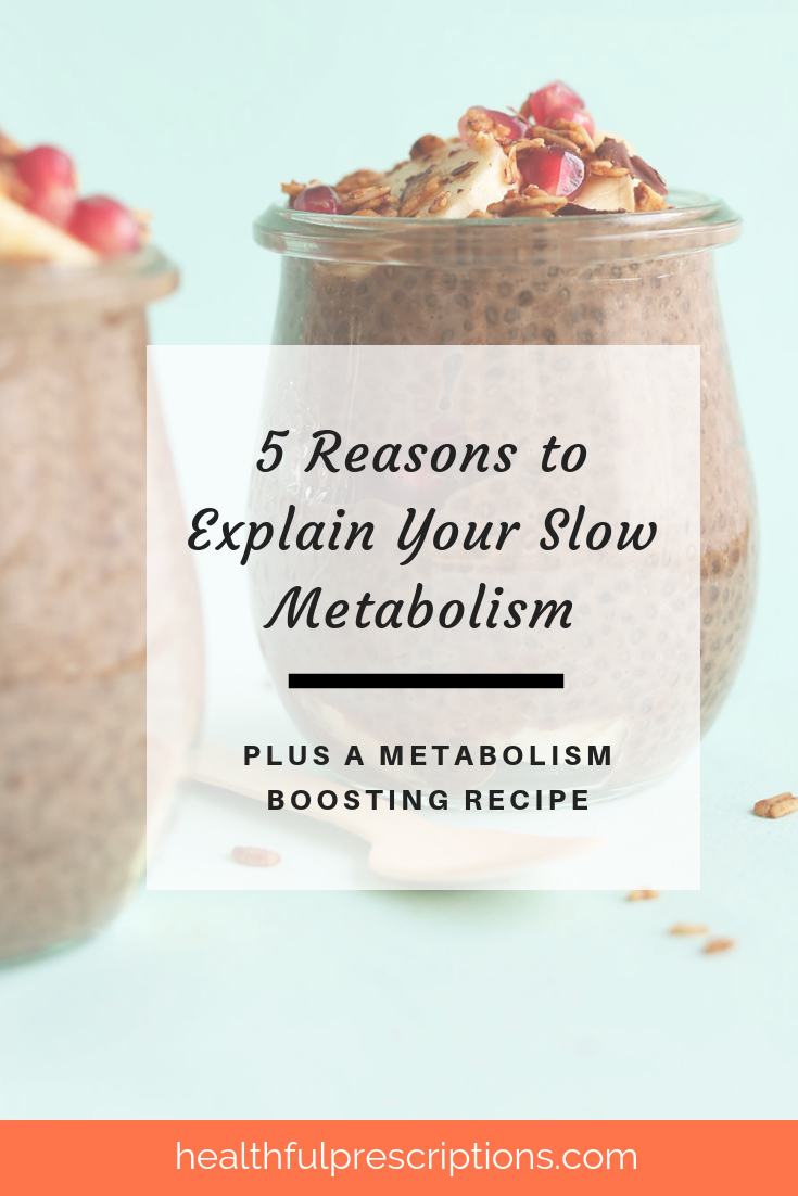 Boost metabolism and lower blood pressure and blood sugar naturally