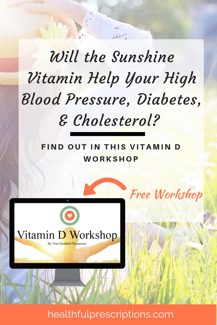 Vitamin D for High Blood Pressure, Diabetes, and Cholesterol Workshop