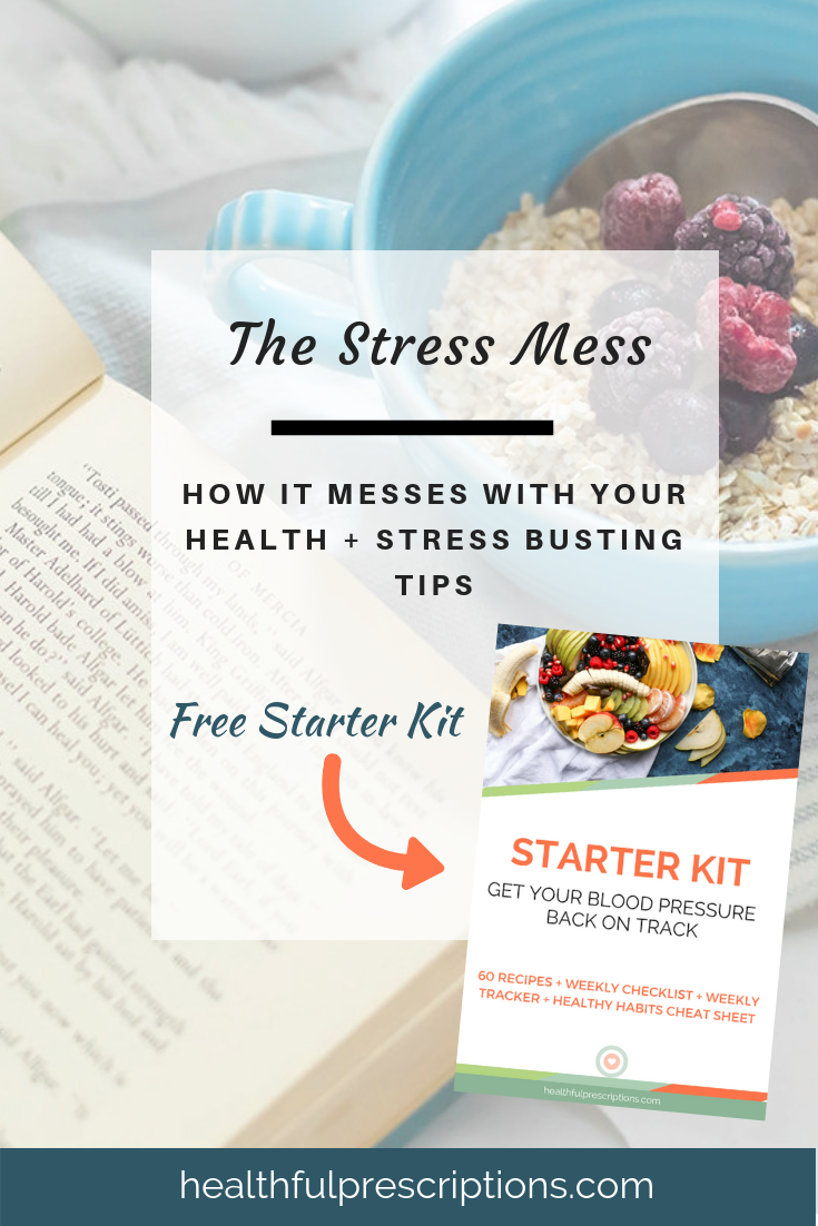 stress messing with your health