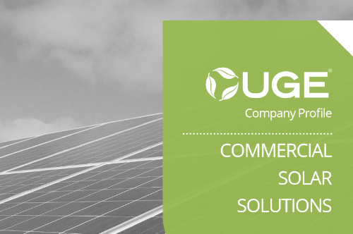 UGE- Commercial Solar Solutions - Company Profile