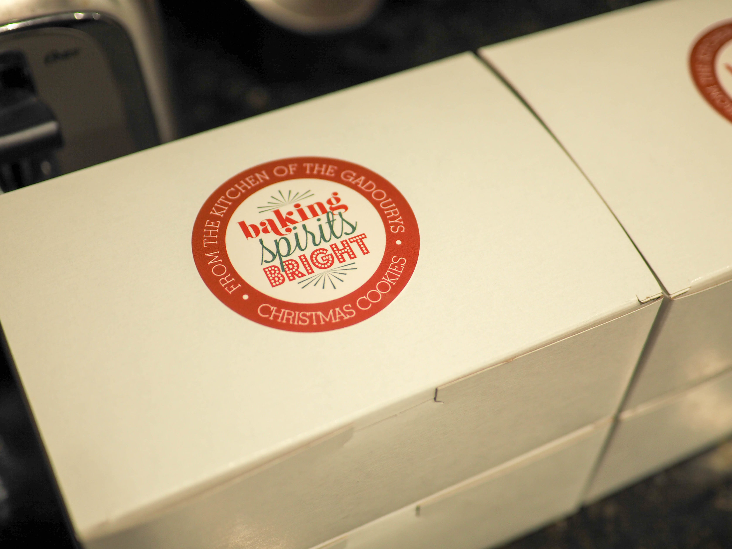 Bakers boxes ,  Personalized stickers from Zazzle