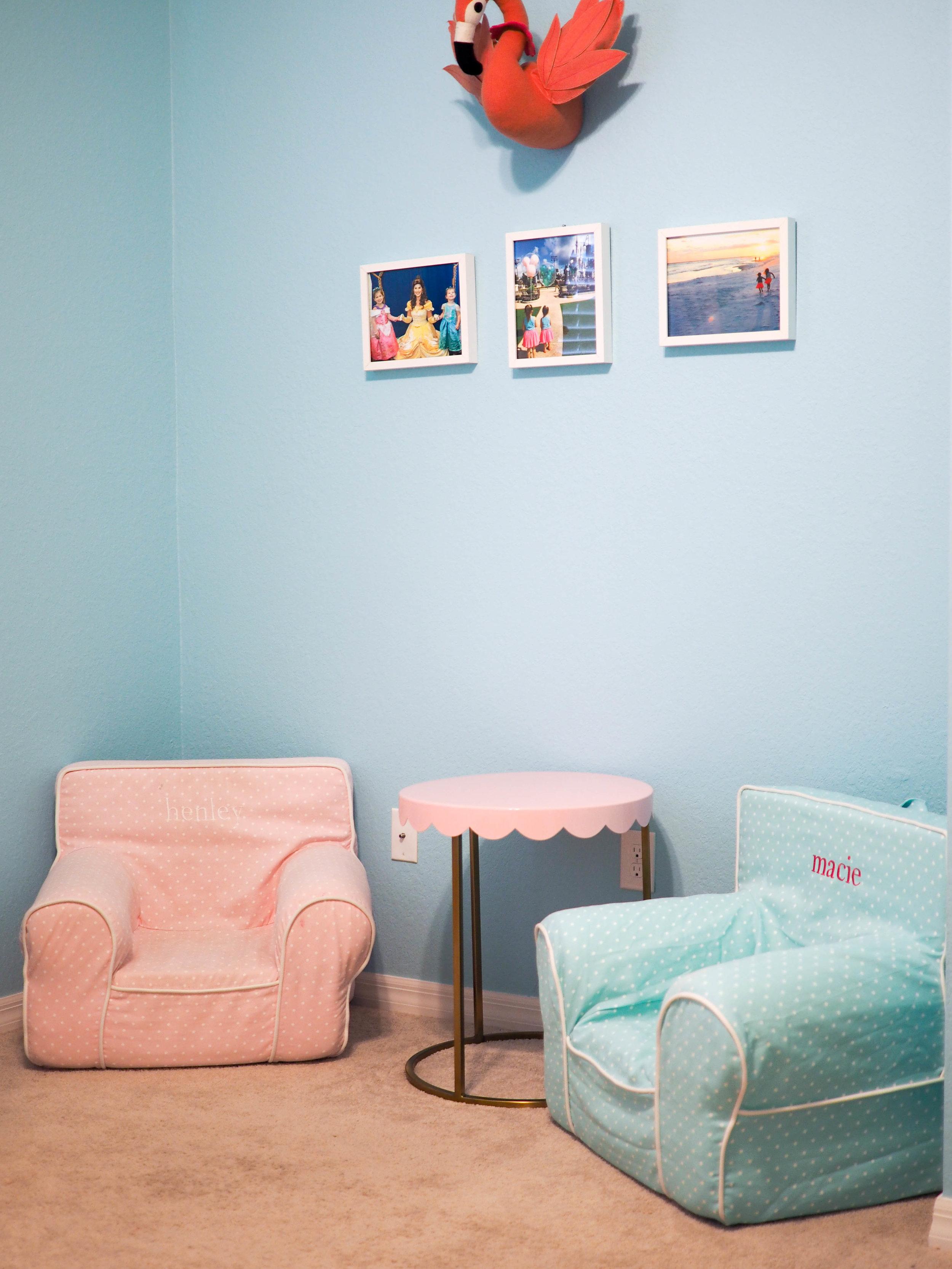 PBK Anywhere Chairs ,  Pillowfort Table