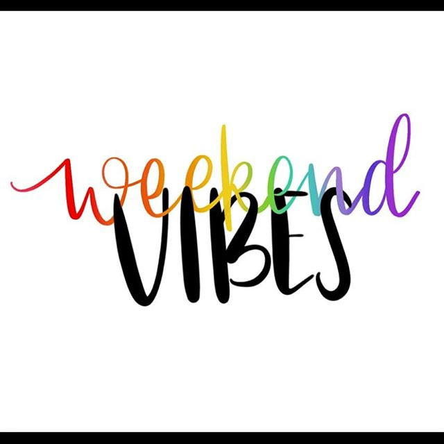 Anyone else looking forward to those #weekendvibes . I pray today goes by fast, this week has been busy (and mama is tired)! I'm hoping to get some time this weekend to recharge but with gymnastics, soccer, a concert, and Disney it's unlikely. Happy Friday friends! 😗 . . #friday #itsfriday #procreate #ipadlettering #lissletters #ipadletteringcourse #handlettering #creativity #weekend #weekendplans