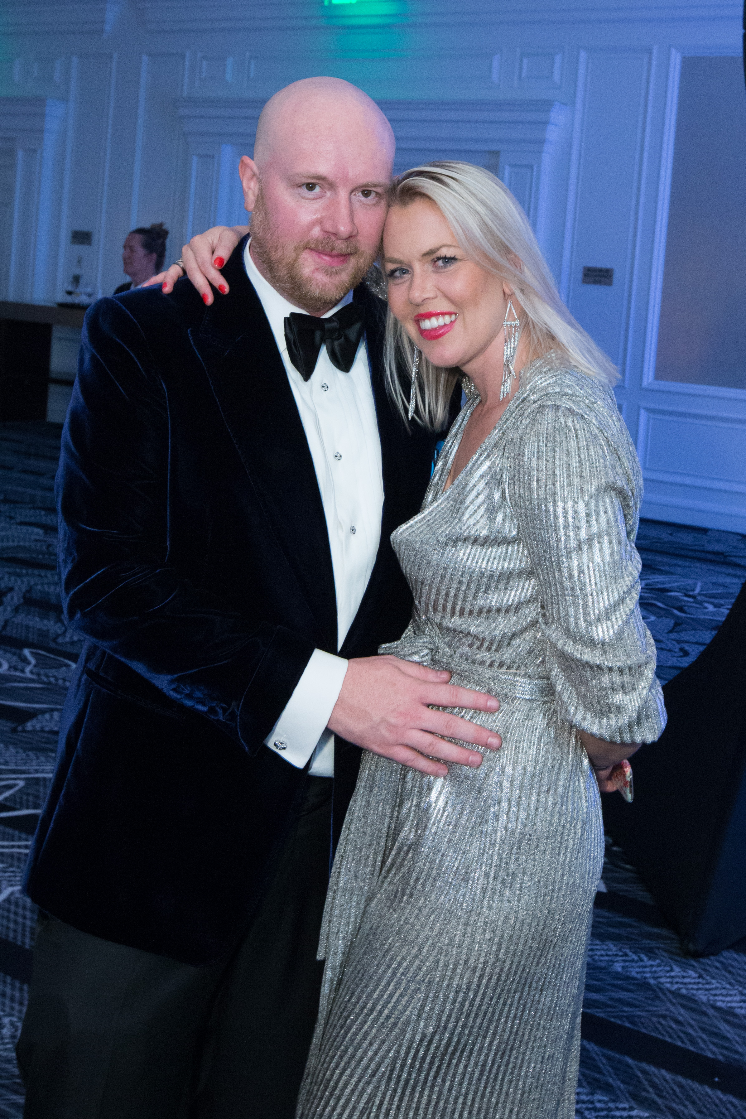 Musical Performer DJ Eric Prydz with his wife Sofie (Photo by Drew Altizer)