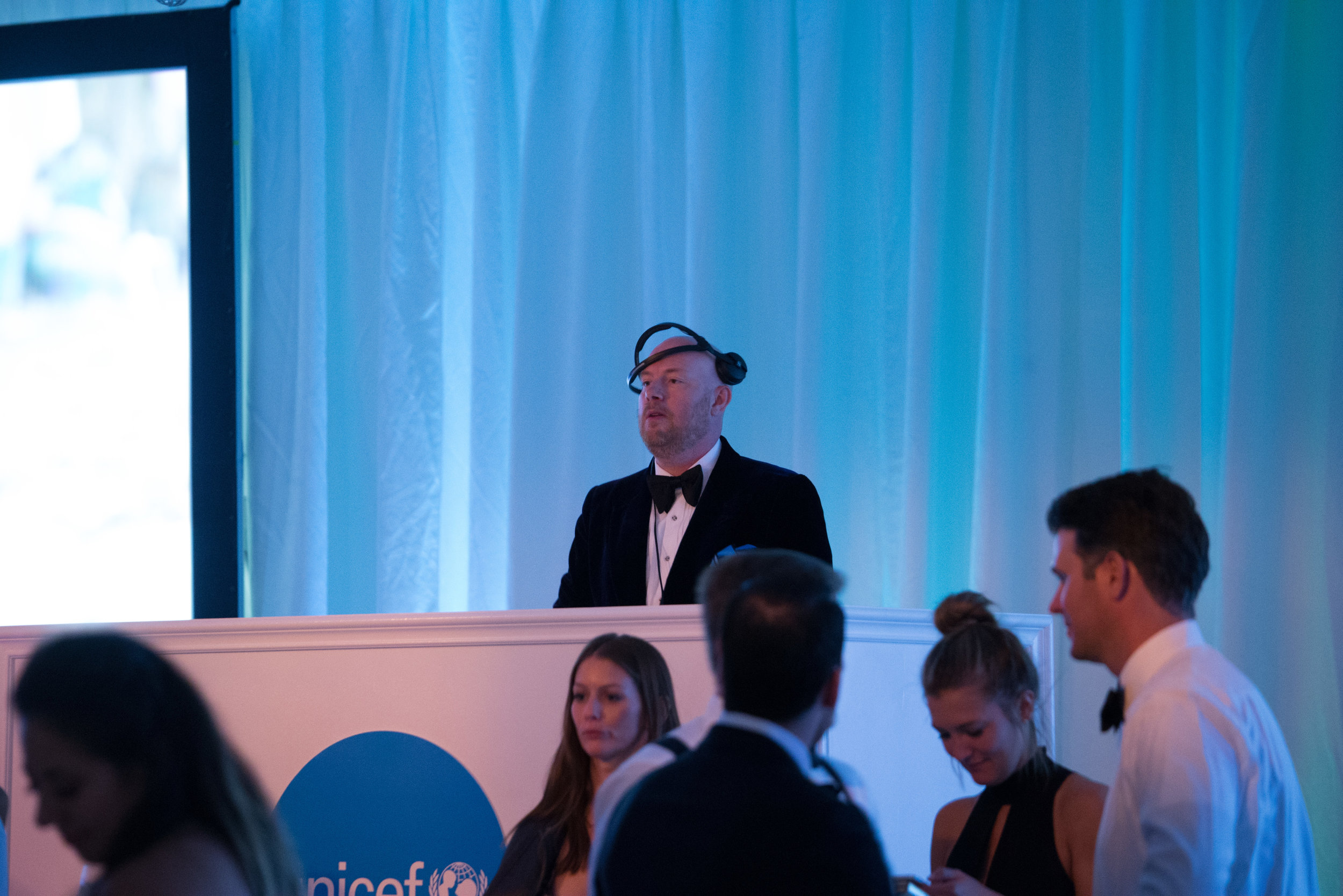 DJ Eric Prydz performing at the UNICEF Gala San Francisco (Photo by Drew Altizer)