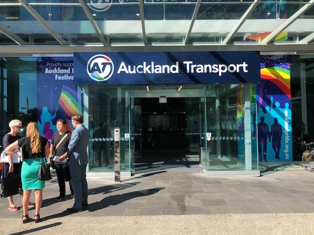 Auckland Transport: Meeting Room Booking System -