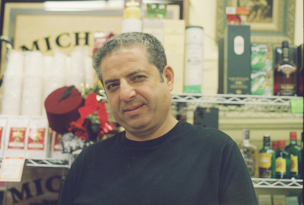 Corner store owner, Turkish coffee connoisseur