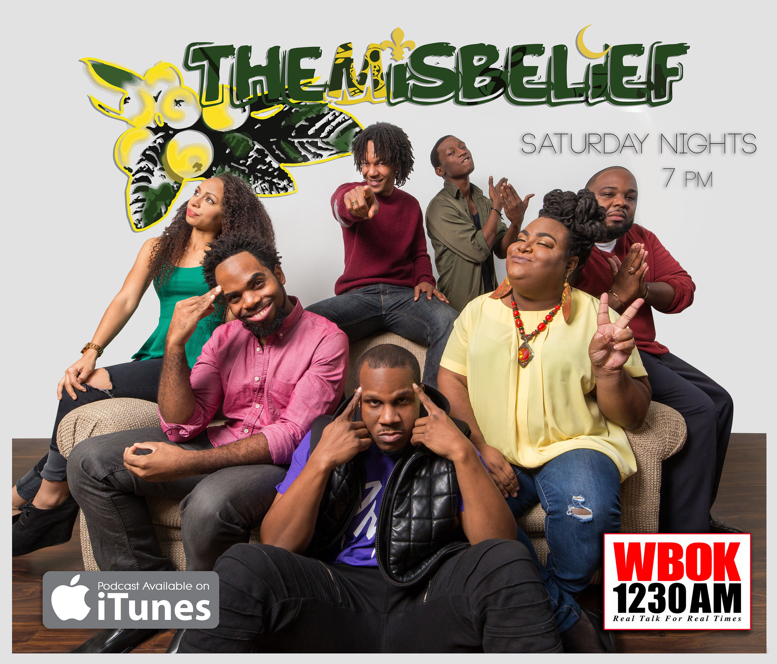 TheMisbelief - available on iTunes, Facebook, Instagram, YouTube, and www.TheMisbelief.podbean.com