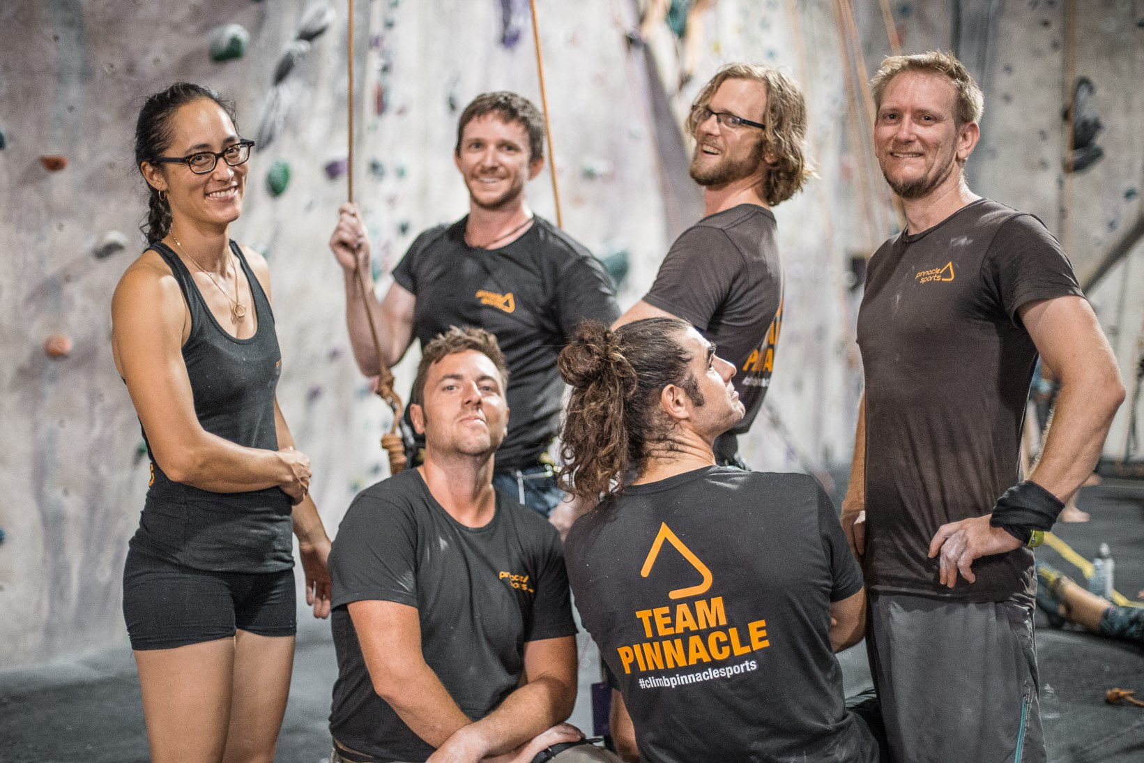 """The winning team, """"Pinnacle Conquistadors of Vertical Zen"""" looking casual at the beginning of SufferFest. We managed to climb a combined total of 9,450m in 12 hours."""