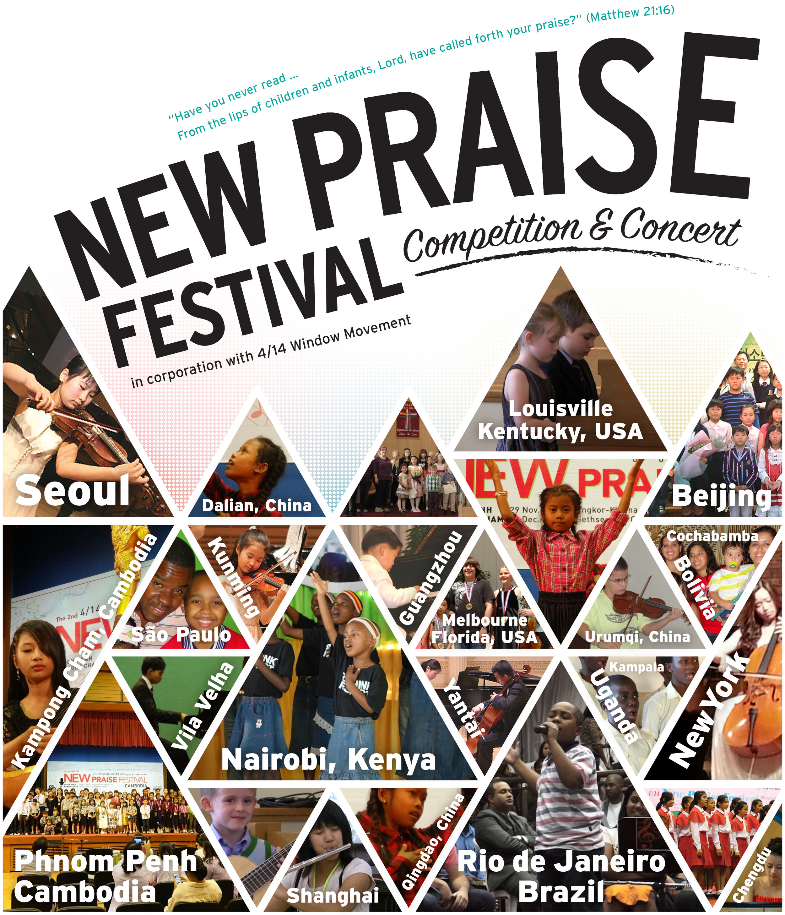 Louisville New Praise Festival 2019 - April 27 Competition 10amMay 5 Winner's Concert 5:30pm