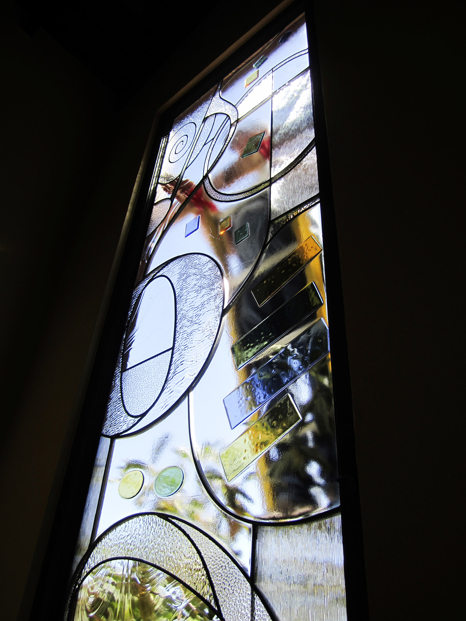 fused glass stained glass installation abstract art palo alto atherton menlo park san jose san francisco bay area.jpg