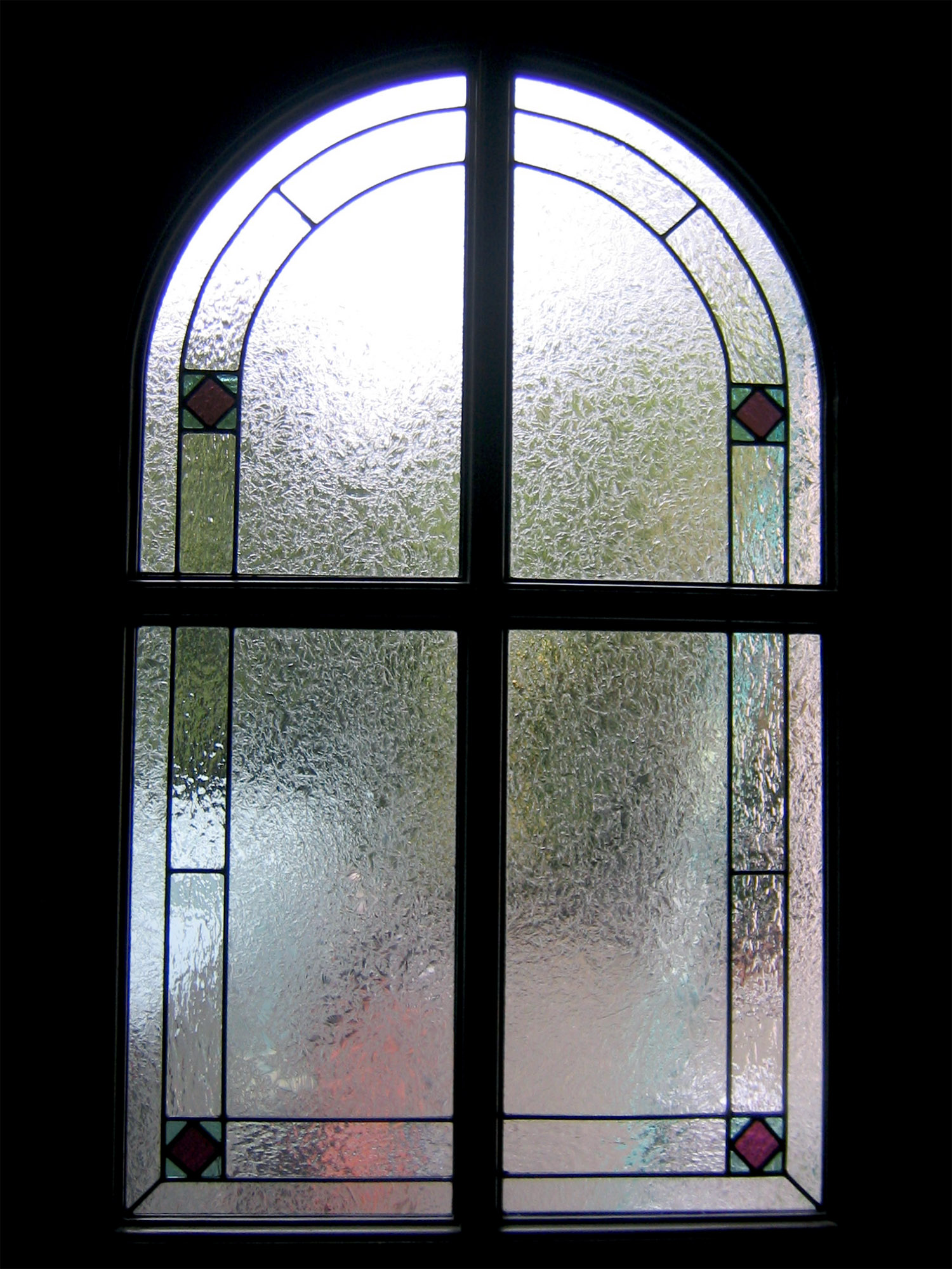 traditional arch leaded glass stained glass studio palo alto atherton california san francisco san jose legacy glass.jpg