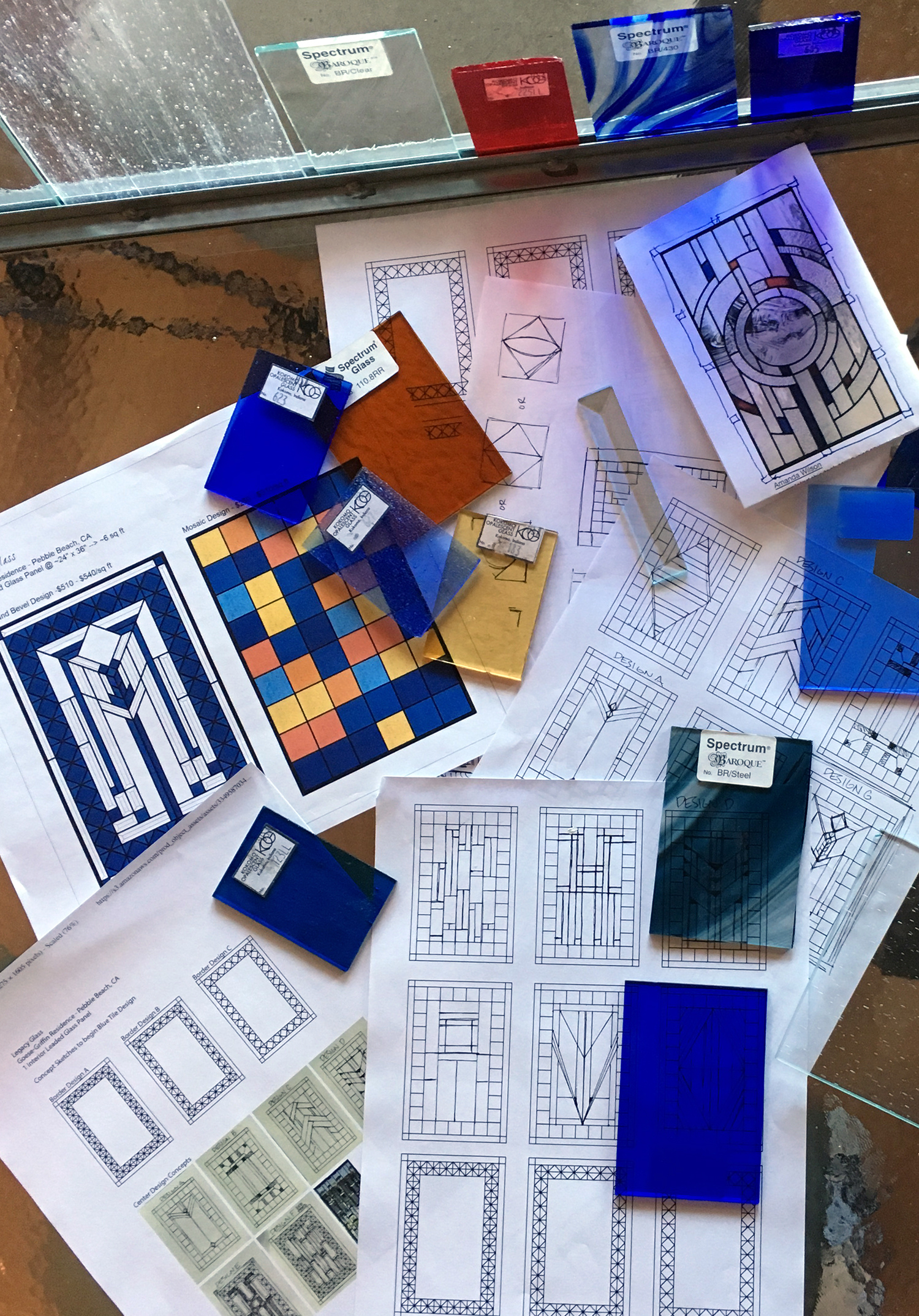 stained glass consultation samples sketches design leaded glass stained glass window palo alto atherton california san francisco san jose legacy glass.jpg