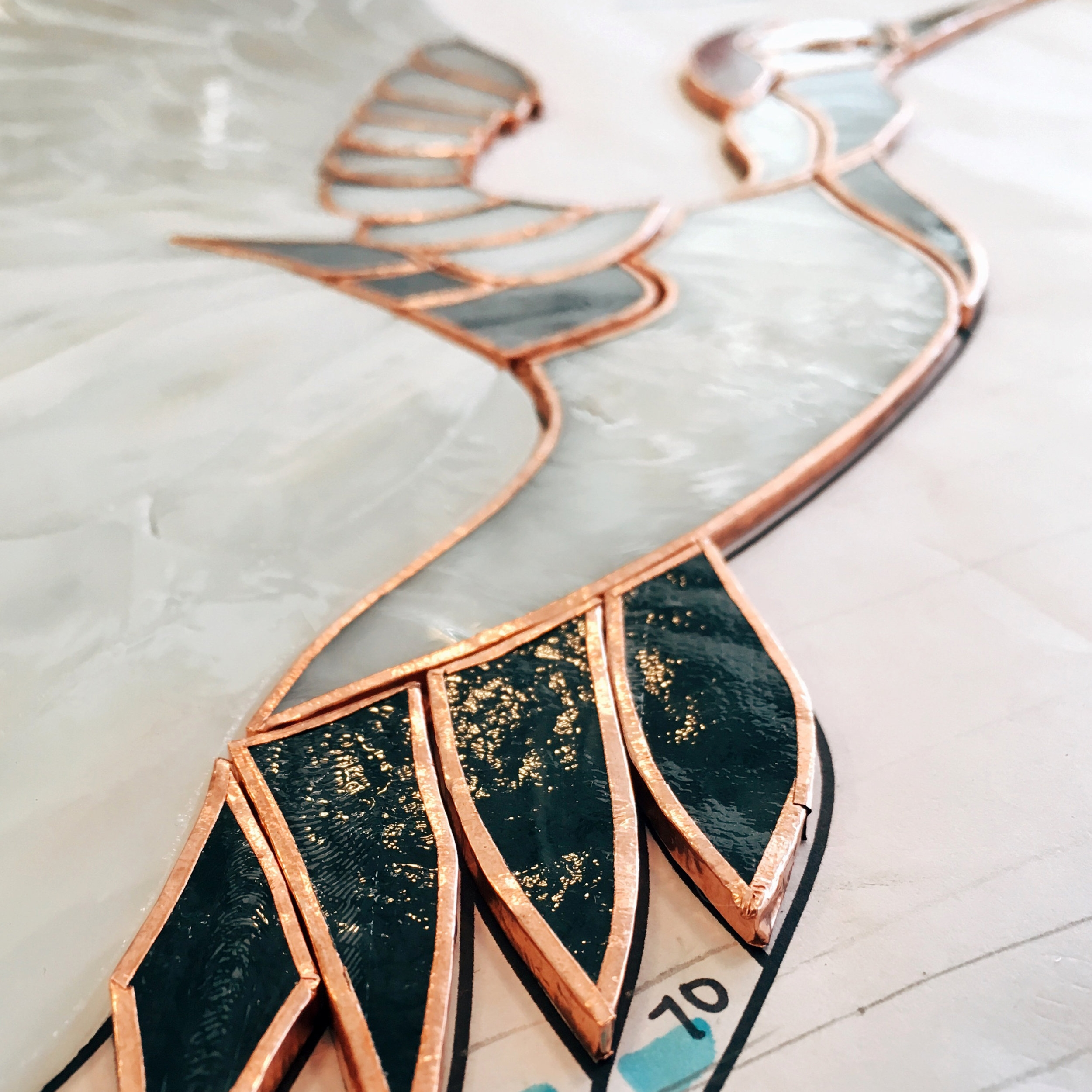 copper foil stained glass studio fabrication leaded glass stained glass window palo alto atherton california san francisco san jose legacy glass.jpg