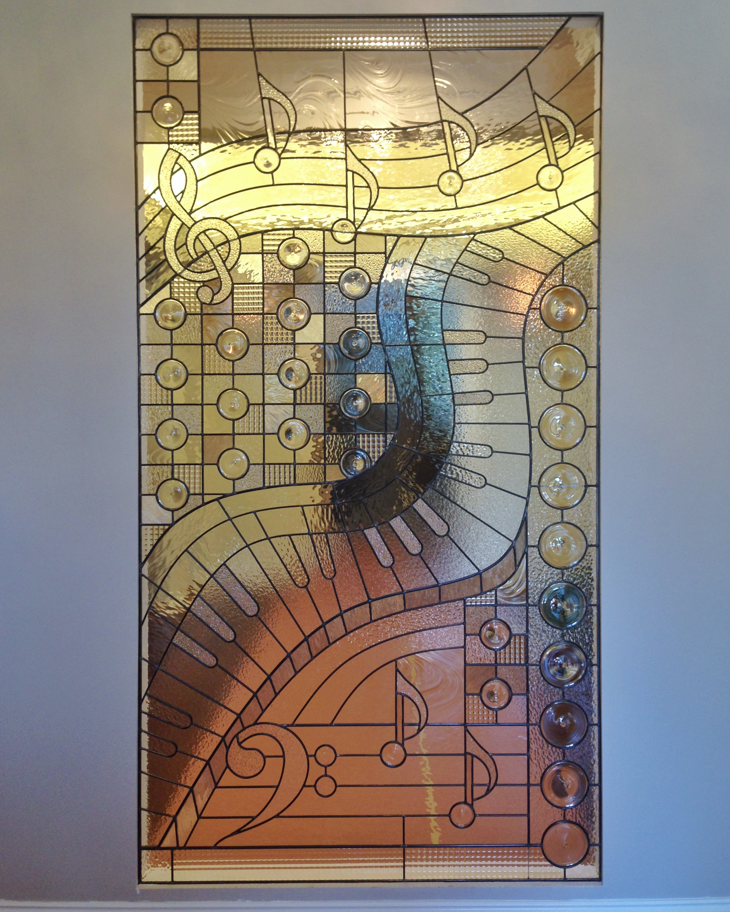 abstract stained glass music notes piano musical leaded glass palo alto atherton menlo park san jose san francisco bay area legacy glass.JPG