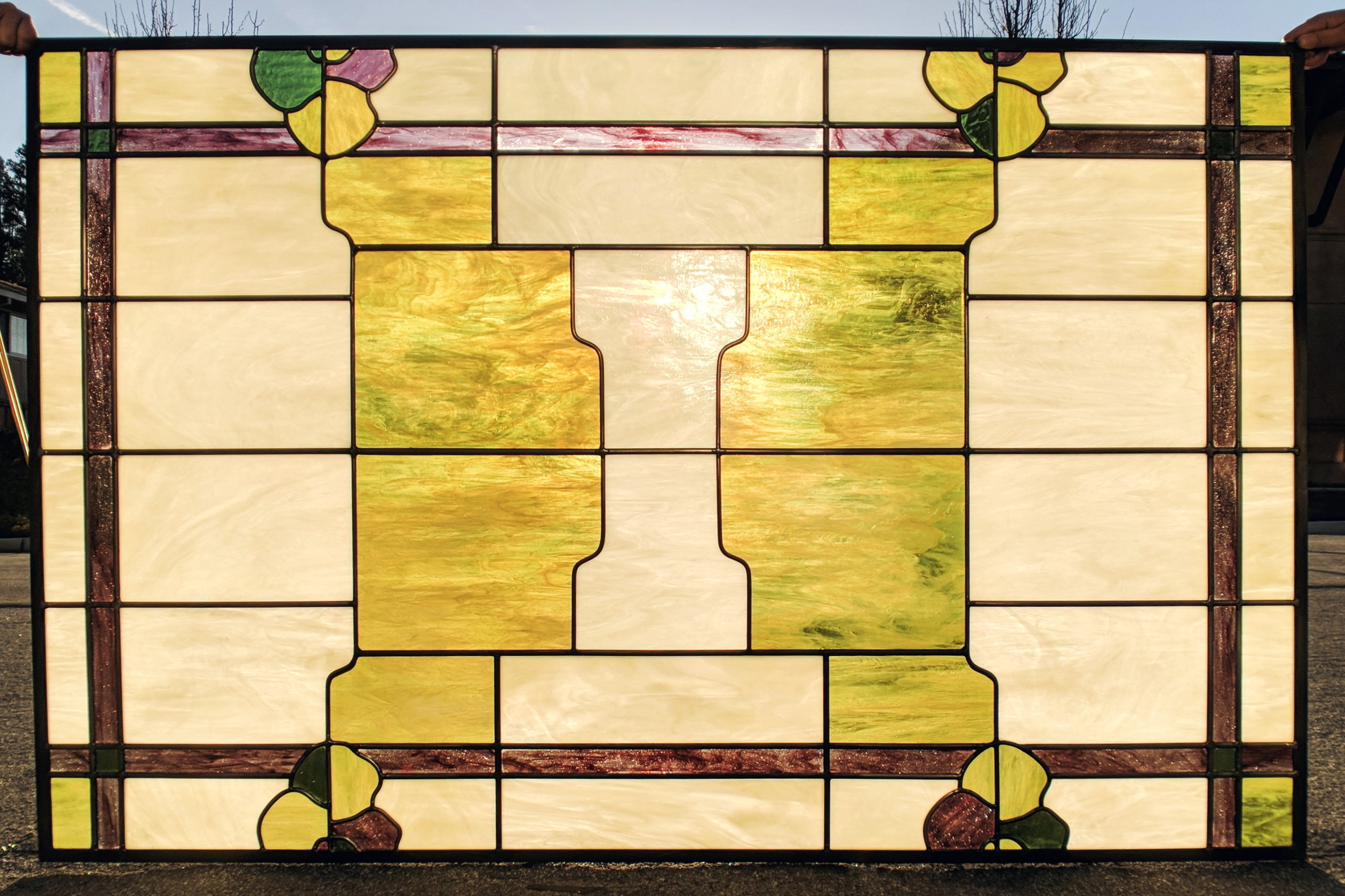 stained glass leaded glass design legacy glass studios menlo park bay area california skylight craftsman cloudlift manly office stained glass.jpg