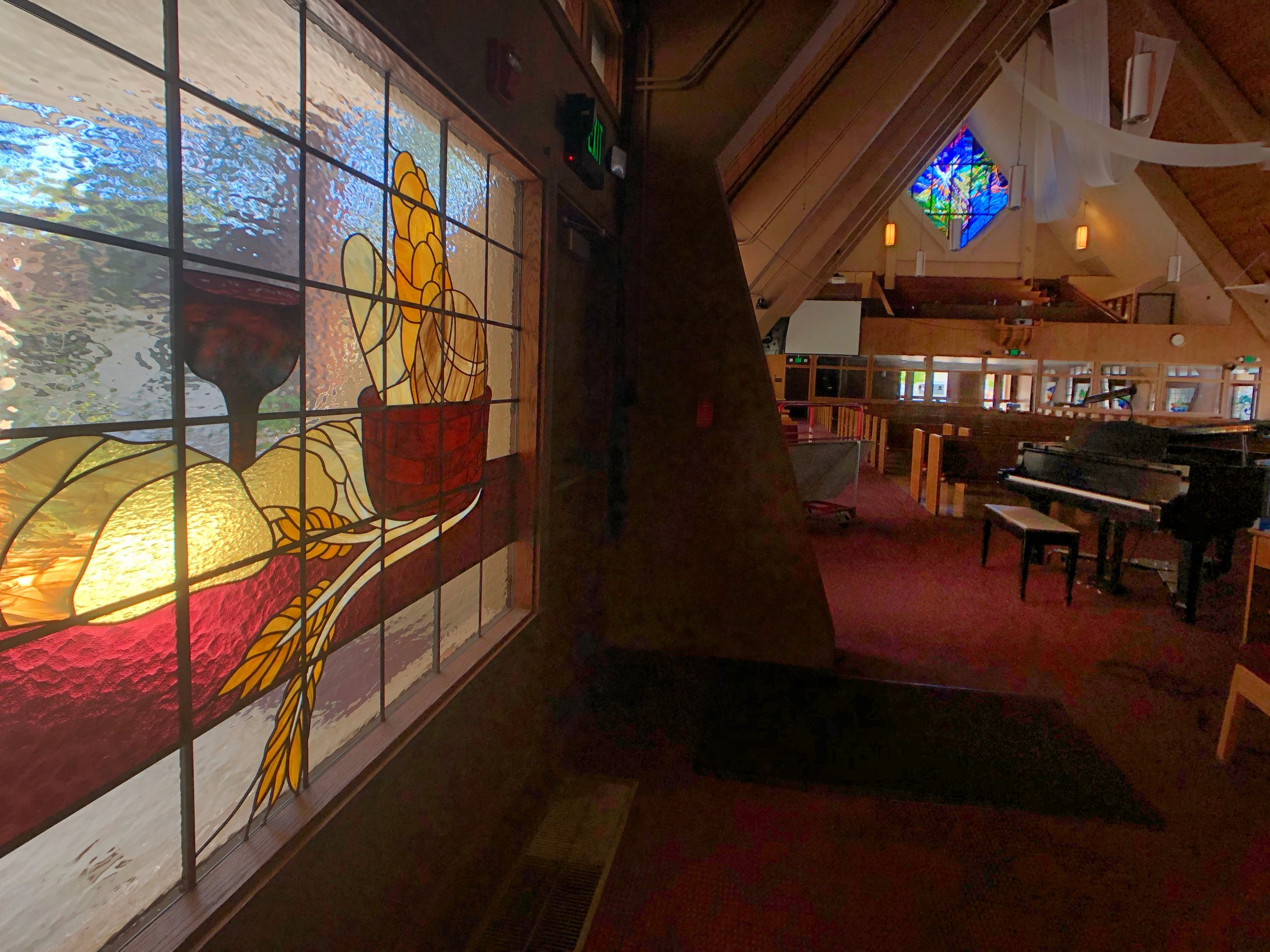 sunnyvale presbyterian church mountain view california legacy glass studios custom stained glass communion bread wine wheat grain design window religious art.jpg