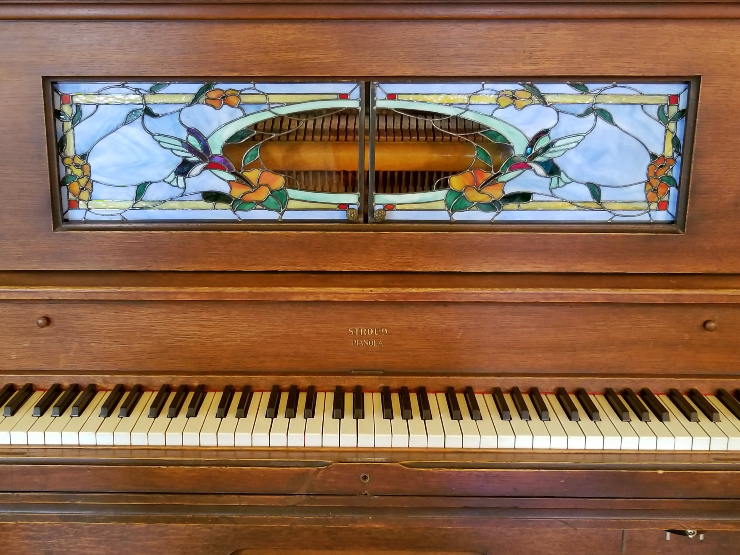 Sliding Player-Piano Doors - Hummingbird