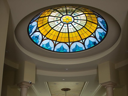 This dome example is not designed by Legacy Glass