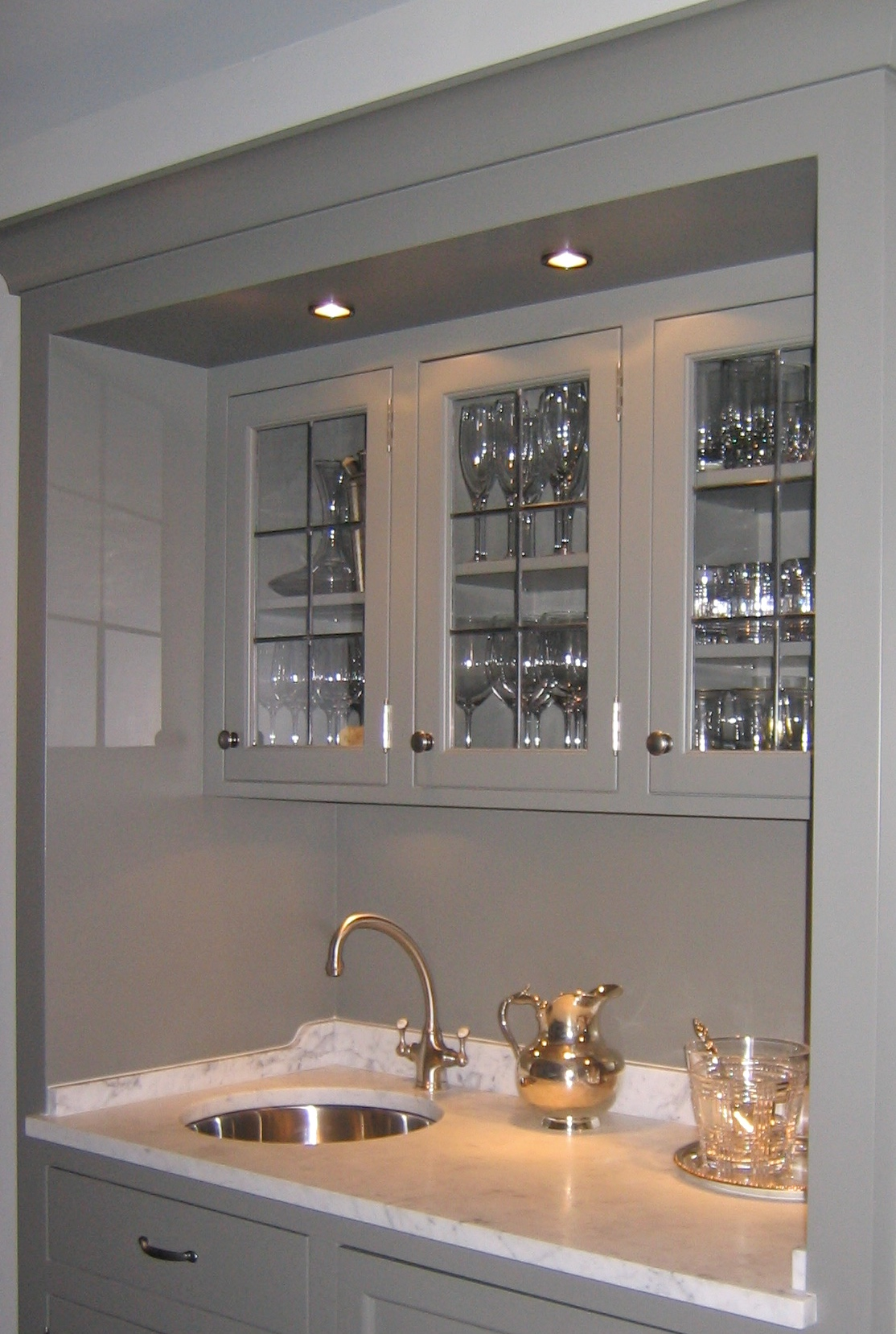 custom leaded glass cabinet door inserts butlers pantry wet bar cabinets simple clean grid traditional glass design legacy glass studios.jpg