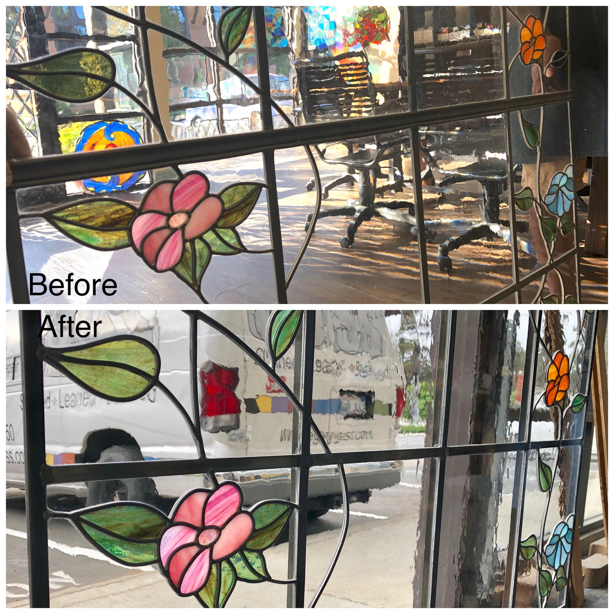 stained glass repair bay area legacy glass studios broken window floral clear texture.jpg