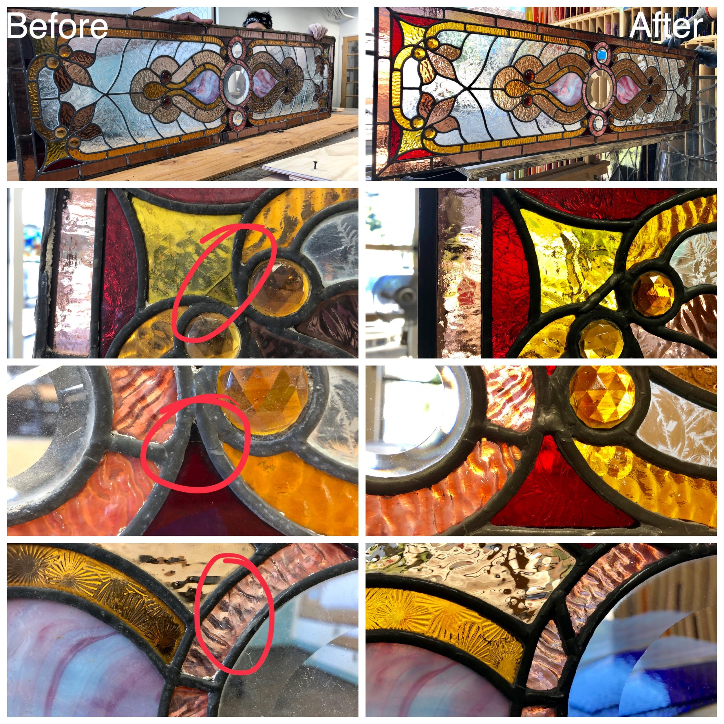 stained glass repair bay area legacy glass studios broken colored glass lead line antique.jpg