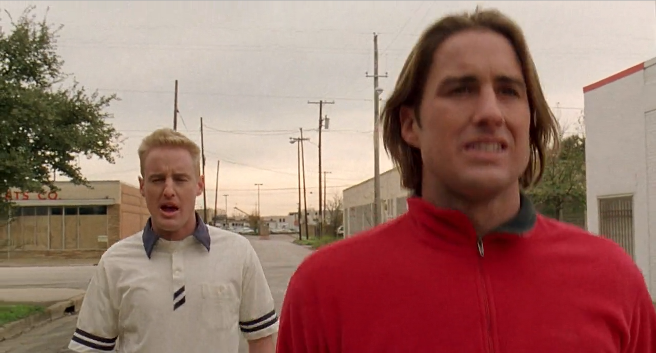screenshot from  Bottle Rocket , 1996