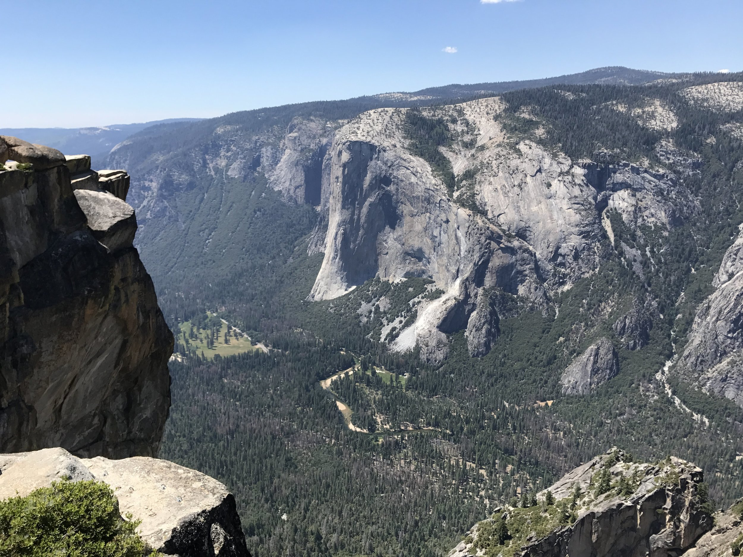 El Capitan from the South Rim