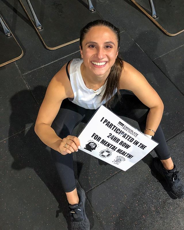A little reminder: not everything that weighs you down is yours to carry 🙏🏼 this morning I joined the @chocolateboxtraining crew for a 24 hour row to raise money for @gotcha4life & @oneeighty_inc - two incredible mental health organisations reminding us all that we're not alone when times get tough; something that helped me push through this morning! We've raised over $11k so far and we're still rowing strong 💥 #strongertogether