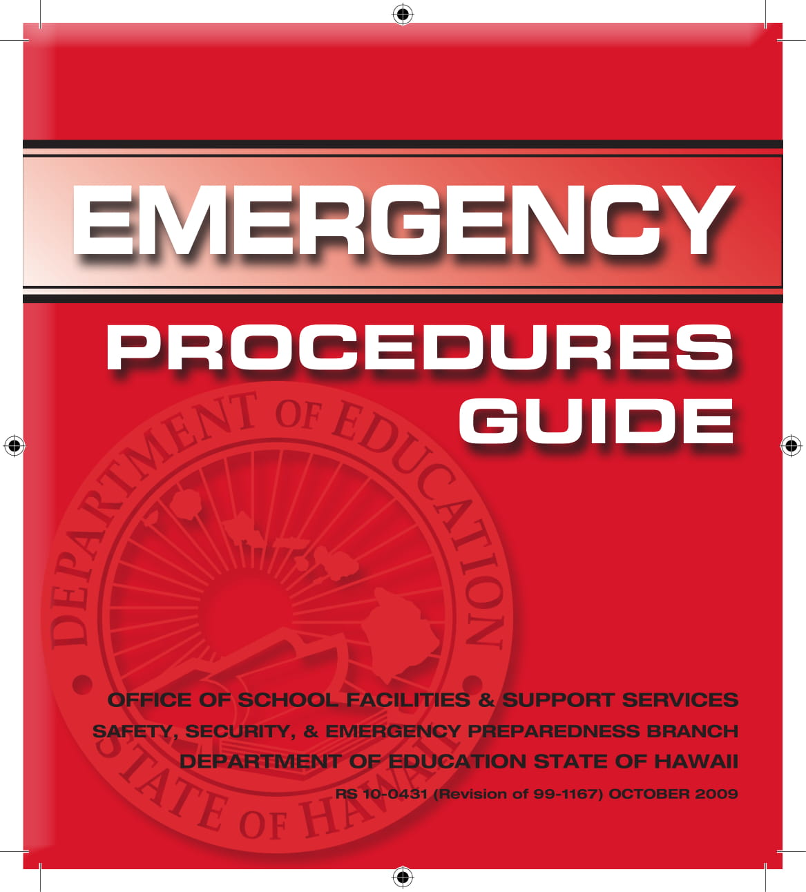 HIDOE Emergency Procedures Guide