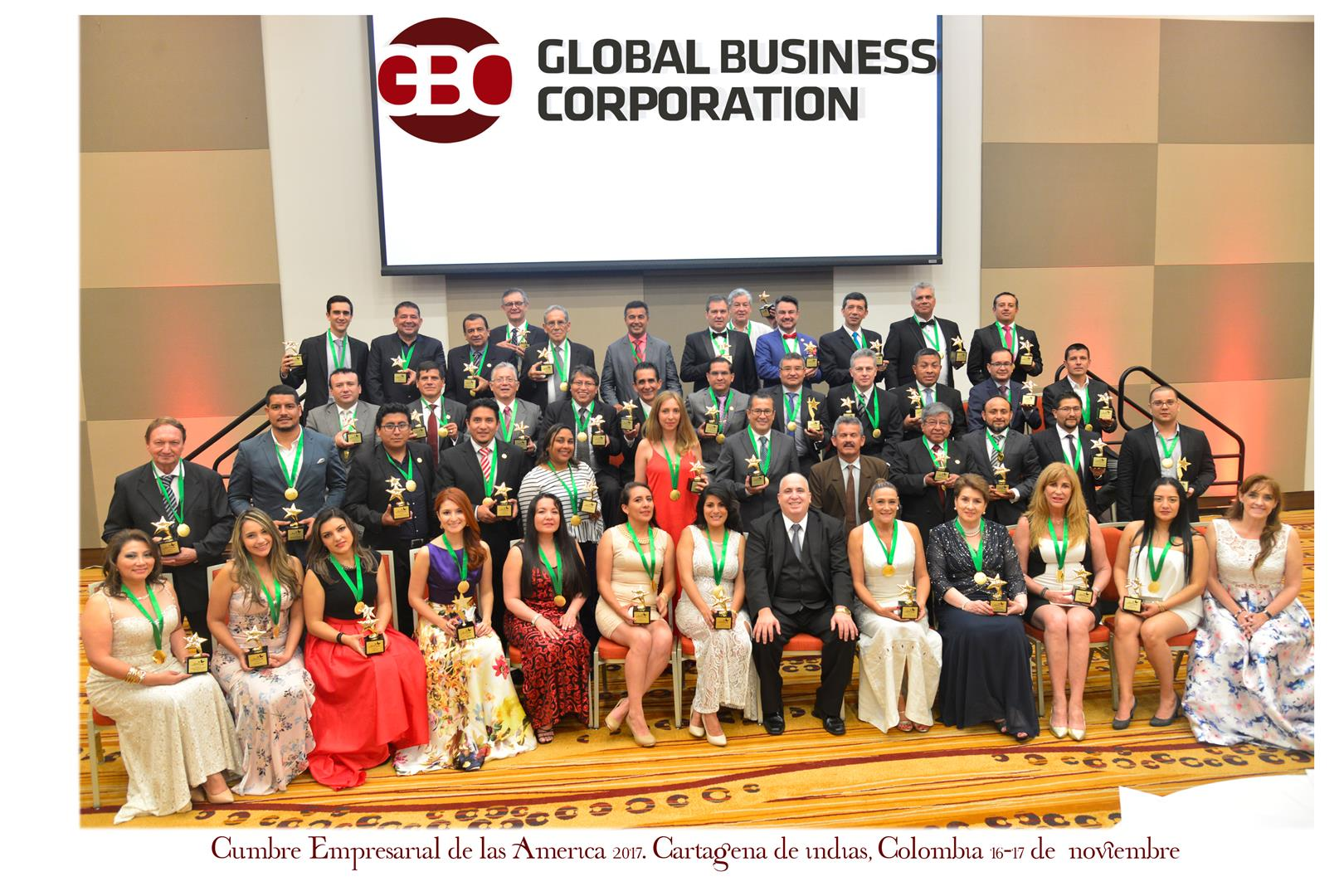 Premiación Global Business Corporation