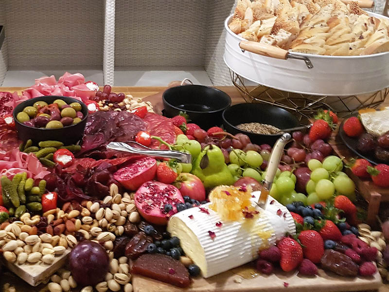 [ grazing table ] -