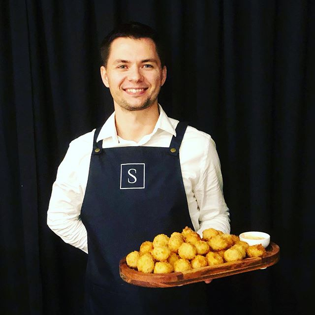 Arancini Balls served with a smile #samphirecateringperth