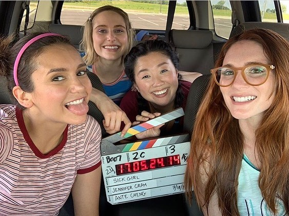 @sickgirlmovie is officially announced!! These ladies killed it, their humor and chemistry is off the charts, can't wait until you see the magic that they and writer director Jennifer Cram and the whole crew created. Thank you @sharontabb and @kristaperrymuah for inviting me into this MAGIC ✨🌟✨ #sickgirlfilm #justsickgirlythings #tulsafilm #oklahomafilm @okfilmmusic