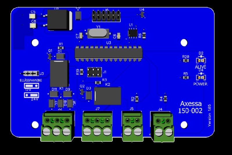 Interface för anslutning av UHF mottagare
