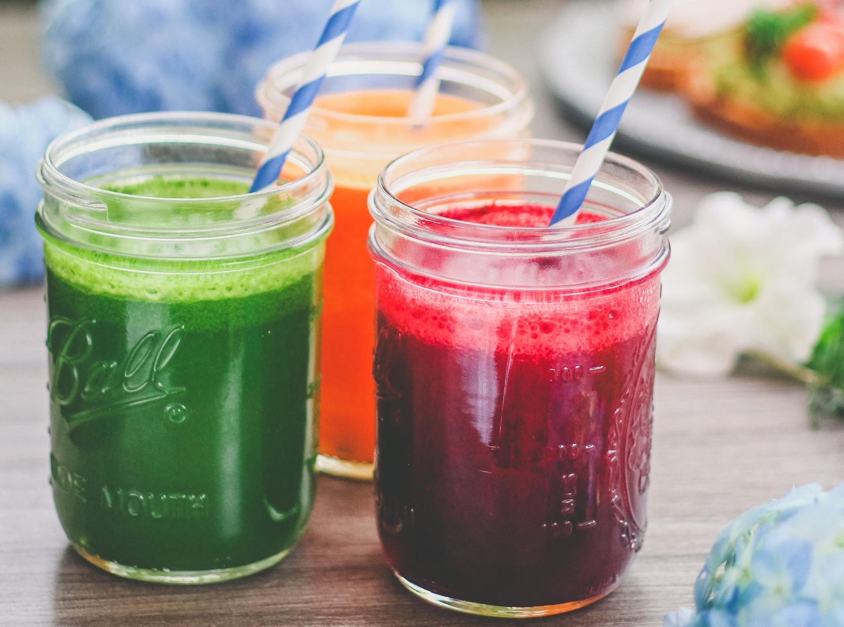 Extractos de verduras + frutas