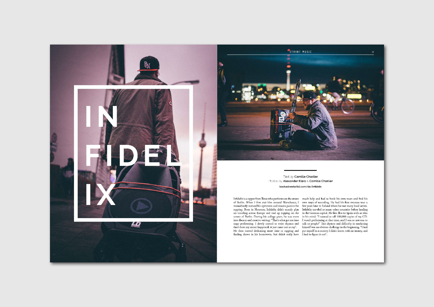 INFIDELIX: interview with the American Berlin-based street rapper