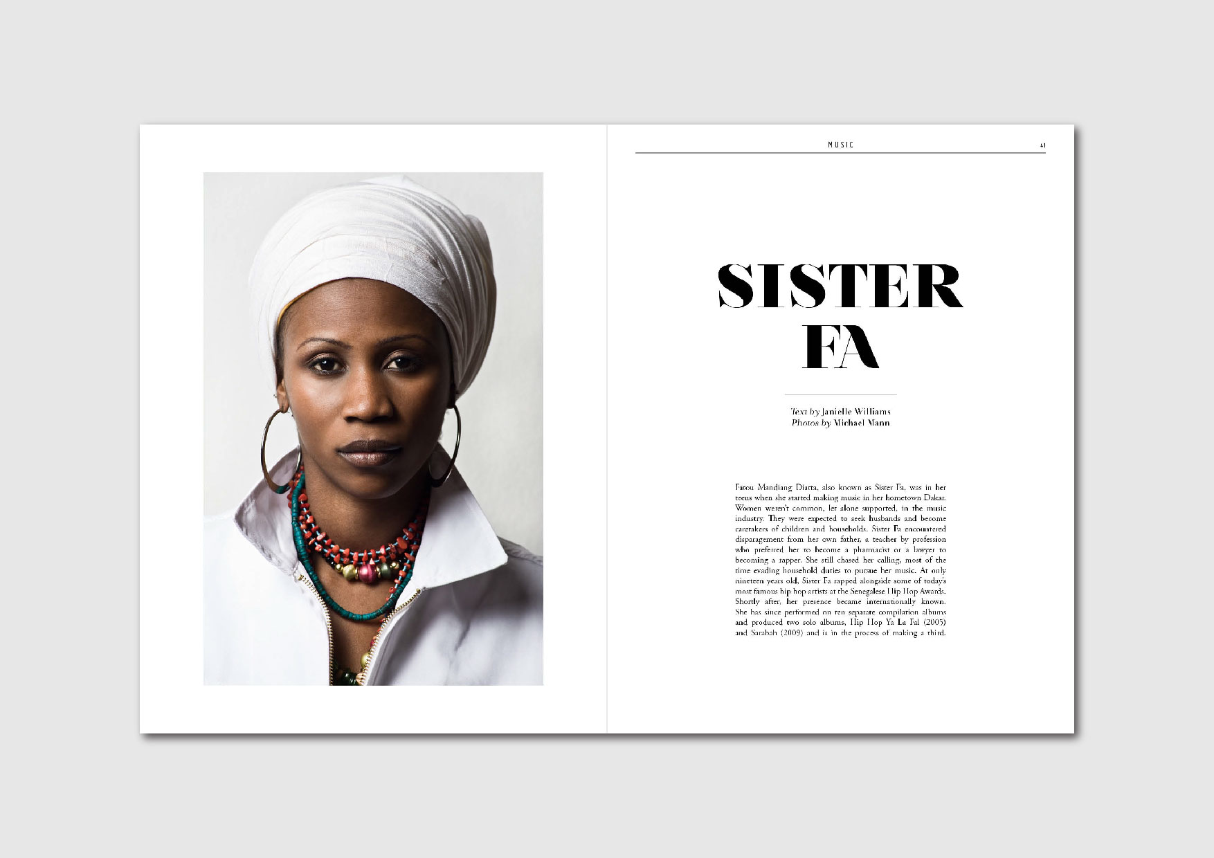 Sister Fa: getting to know the female rapper and activist from Senegal